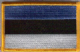 Estonia Embroidered Flag Patch, style 08.